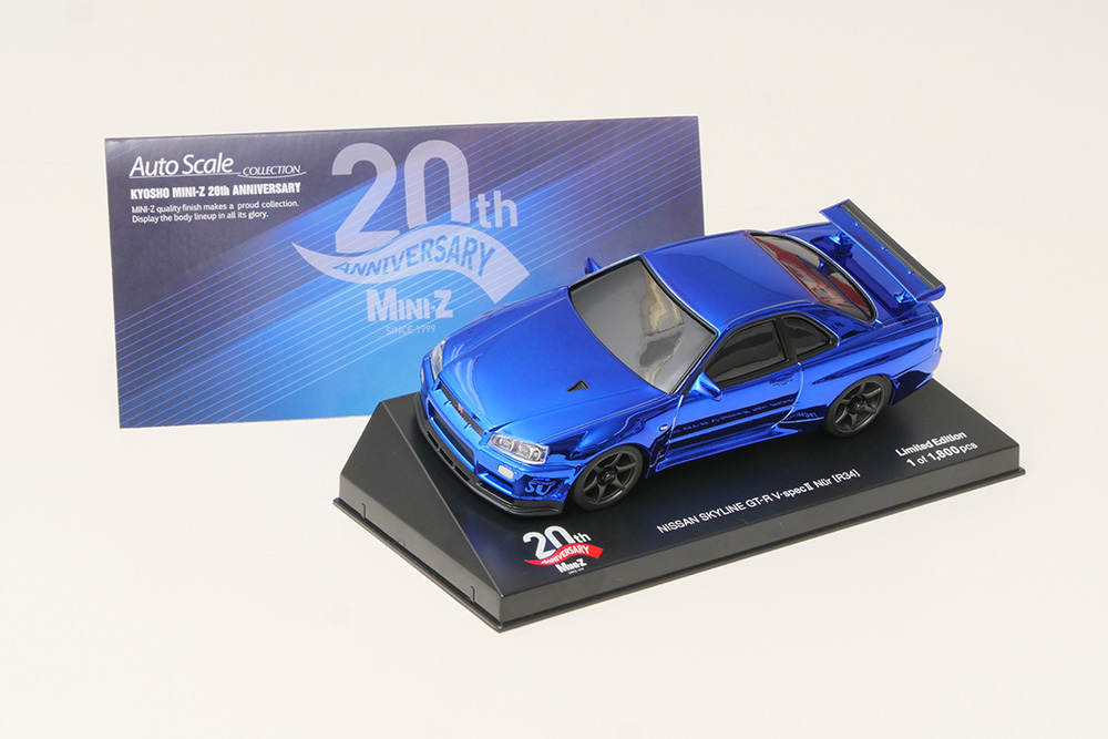 KYOSHO MINI-Z RACER 20TH ANNIVERSARY 「京商ミニッツレーサー 20年の歩み」
