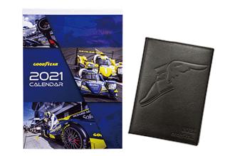 グッドイヤー 大判カレンダー& スケジュール帳セット | ドライバー2021年2月号プレゼント