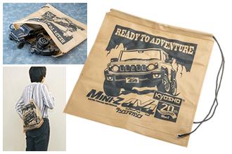 京商MINI-Z 4×4ジムニー 特製肩掛けバッグ | 付録 | ラジコンマガジン 2021年4月号